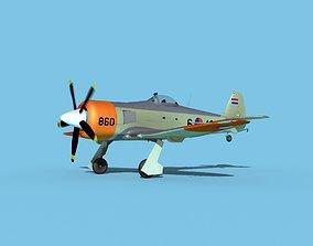 3D model Hawker Sea Fury Royal Neatherland