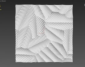 3D Pannel Leaves Down