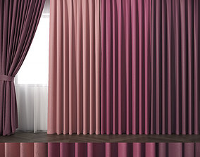 Curtains-R2 3D model