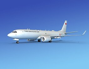 Boeing P-8 Poseidon Turkish Air Force 3D model