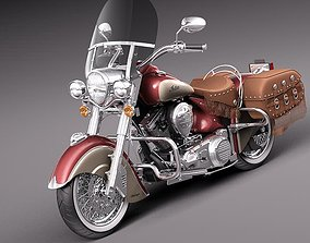 Indian Chief Vintage 2012 3D model