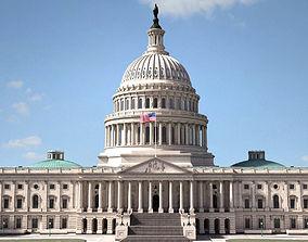 3D model United States Capitol