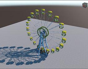Ferris Wheel Pripyat 3D model low-poly