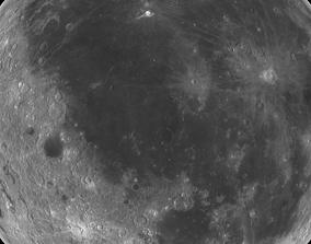 3D model Moon 11k
