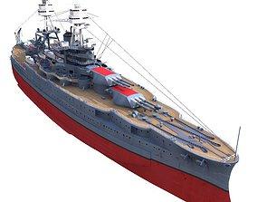 BB-39 USS Arizona 1941 Battleship 3D