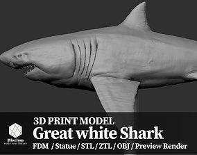 Great white Shark - 3D Print Model