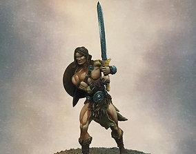 Barbarian Taros 35 and 54 mm - 3D print model
