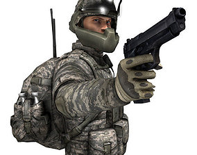 3D model US Army Soldier