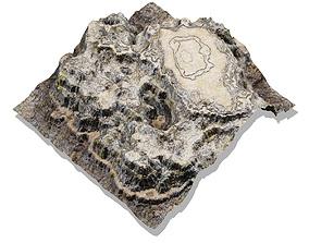 Canyon plateau medium 3D model