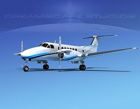 3D model Beechcraft 350 Super King Air V12