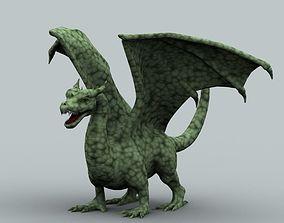 3D model Winged Dragon 01