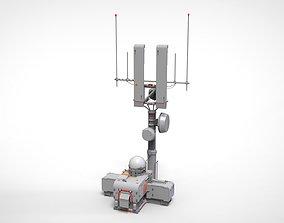 antenna 16 military 3D model