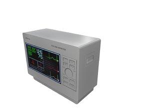 3D model ECG Monitor
