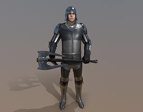 TAB Medieval Knight - 7C - Skin1 3D asset