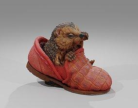 Hedgehog in a Shoe 3D model