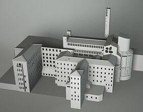 3D MONASTERY HYSTORICAL