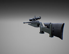 Weapons pack 01 with character animations 3D model