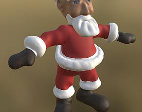 Santa Not Rigged PBR 3D model