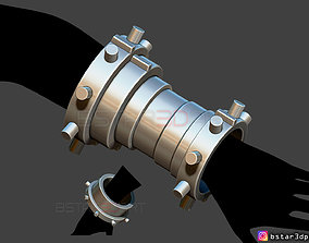 Cloud arm Armor - Final Fantasy VII 3D printable model 1