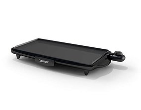 3D model Black Zelmer Electric Griddle
