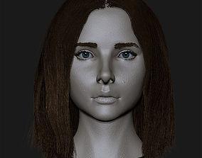 3D Girl cute Chloe