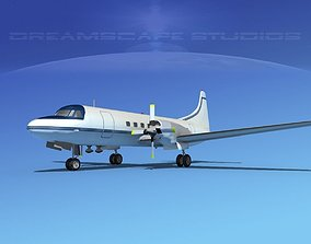 Convair CV-580 Corporate 4 3D model