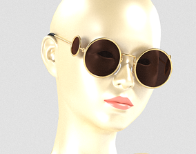 3D model VR / AR ready tiara Sunglasses