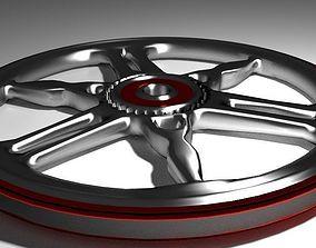 3D model Motorcycle Sportrim Yamaha