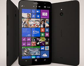 3D Nokia Lumia 1320 Black