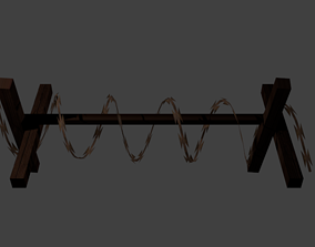 3D model Barbed Wire Trap