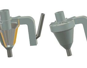 Preheater Dust Cyclone 3D