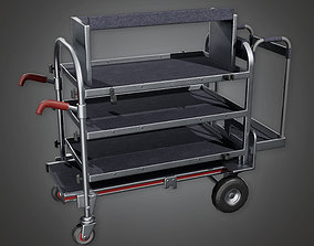 3D model HLW - Production Trolley 03- PBR Game Ready