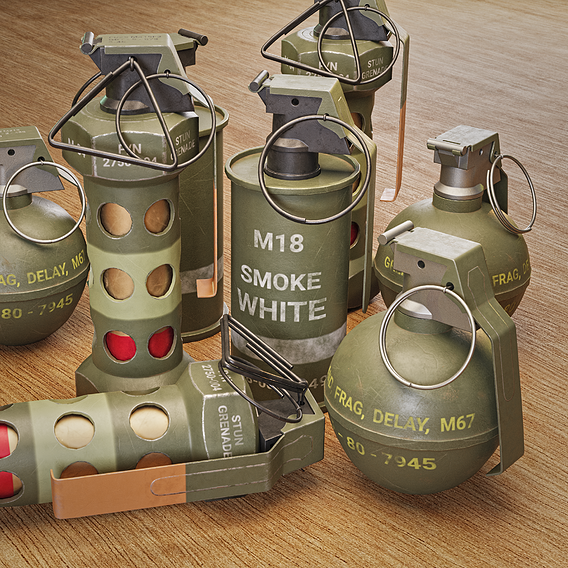 Game Ready Grenades