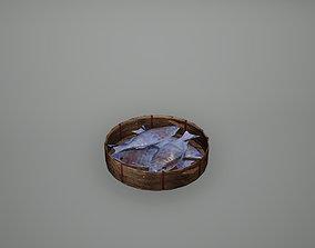 3D asset Viking Fish Low Poly Game Ready