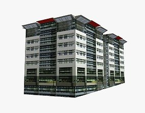 Mincom Corporation Headquerter 3D asset