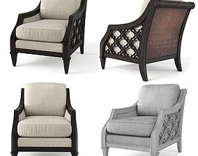 Bay Club Chair 3D model