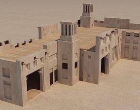 3D model UAE old Building dubai