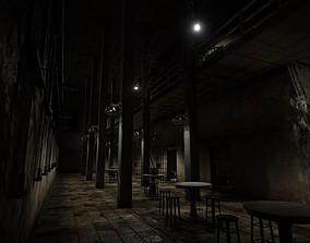 3D asset HQ Modular Prison