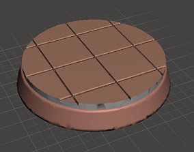 3D printable model 32mm Tile Bases - Regular