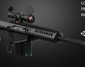 M82 Barrett 3D asset