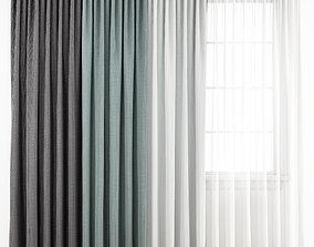 Curtain 180 3D model