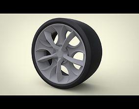 RIM LAMBORGHINI STYLE 3D print model