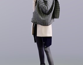 Myriam 10154 - Standing Casual Woman 3D asset