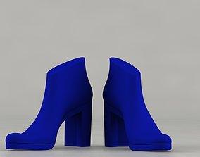 3D print model woman shoe last and heels