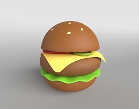 Burger v1 002 3D model