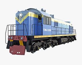 Diesel Locomotive TEM-2 3D