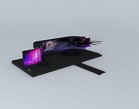 Melodifestivalen 2012 Stage 3D model