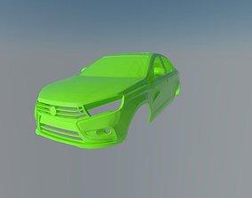 Lada Vesta 2015 3D printable model