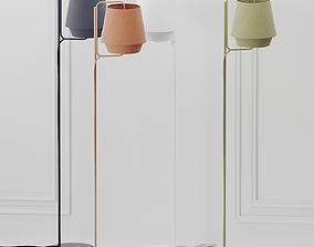 3D ZERO ELEMENTS Fabric Floor Lamps 4 Colors