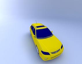 3D model 2003 Mazda Protege